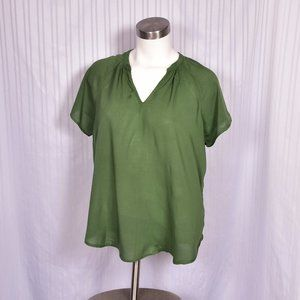 Old Navy olive Green Large Blouse